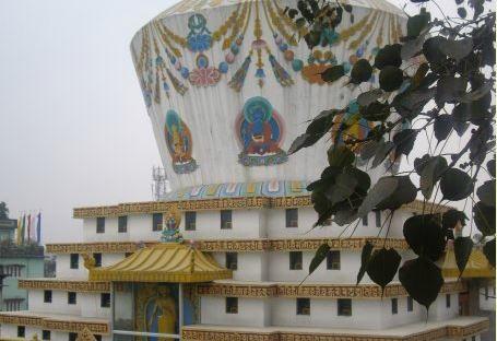 Droden Kunchab Chodey Monastery and Stupa