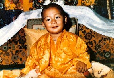 Son éminence le 2nd Kalu Rinpoche